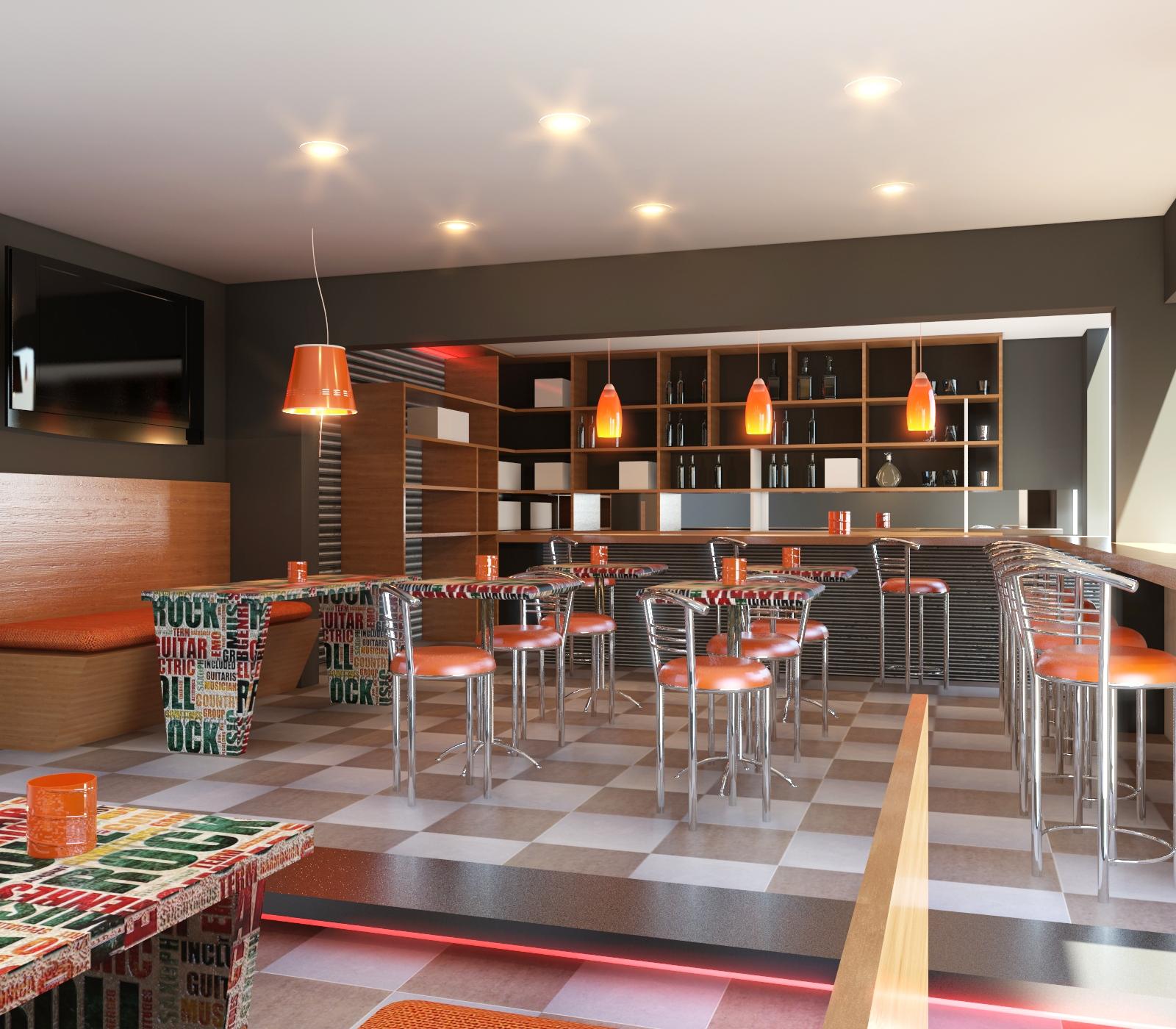 Dise o de interiores de restaurantes grupo mobilart - Empresa diseno de interiores ...