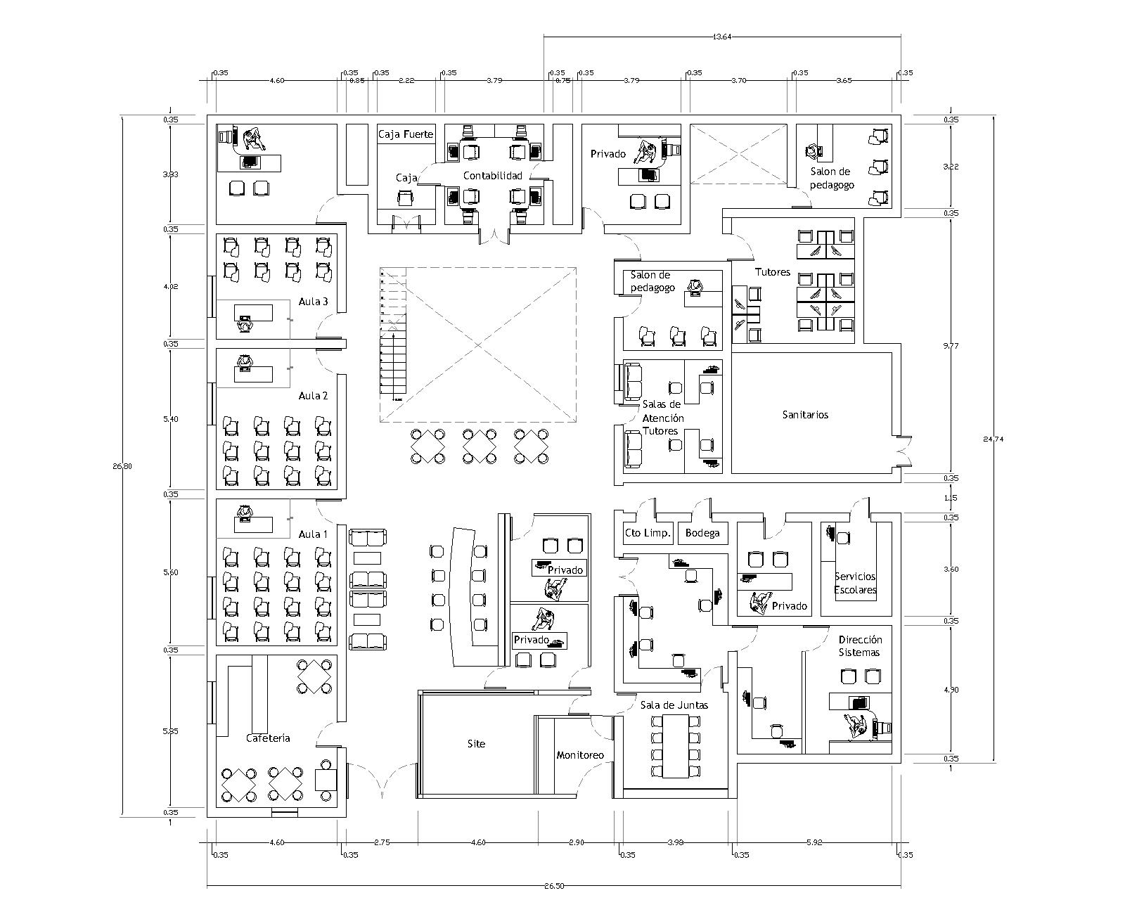Escuela net institute grupo mobilart for Medidas de muebles de una casa