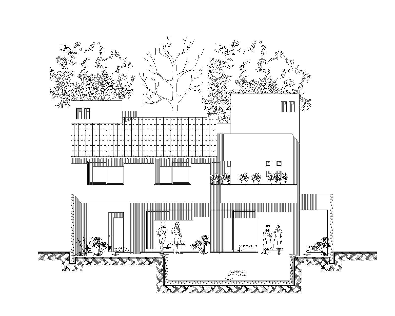 Residencial bonanza grupo mobilart for Proyecto casa habitacion minimalista